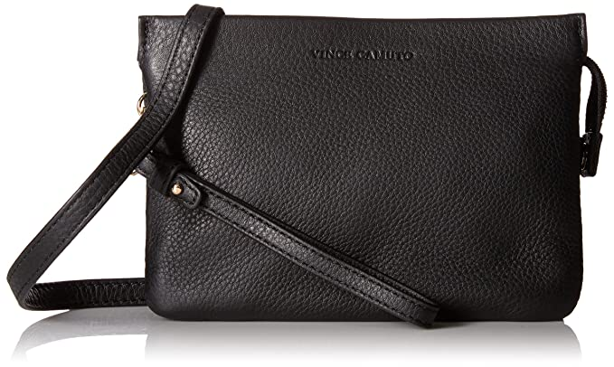 153fd03e8ecc Vince Camuto Cami-CB Cross Body Bag, Black, One Size: Handbags ...