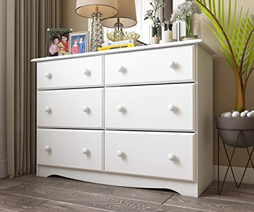 100 Solid Wood Double Dresser
