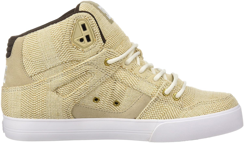 DC Mens Pure High-Top WC TX LE Skate Shoe
