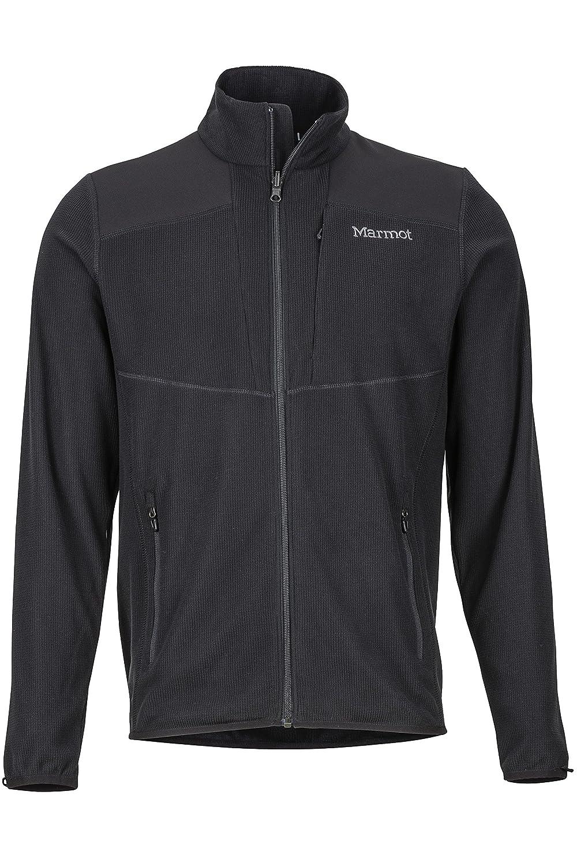 TALLA L. Marmot Reactor Fleece Jacket Chaqueta Polar, al Aire Libre, Transpirable, Resistente al Viento, Hombre