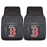FANMATS MLB Boston Red Sox Vinyl Heavy Duty Car Mat