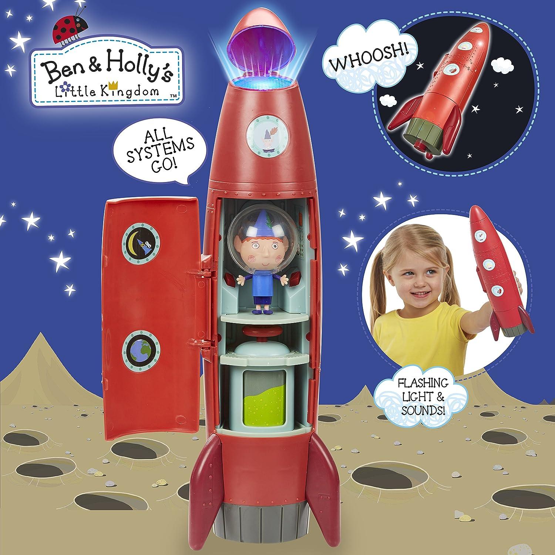 Ans Ben /& Holly/'s Little Kingdom Elf Rocket avec feux clignotant /& SOUND pour 3