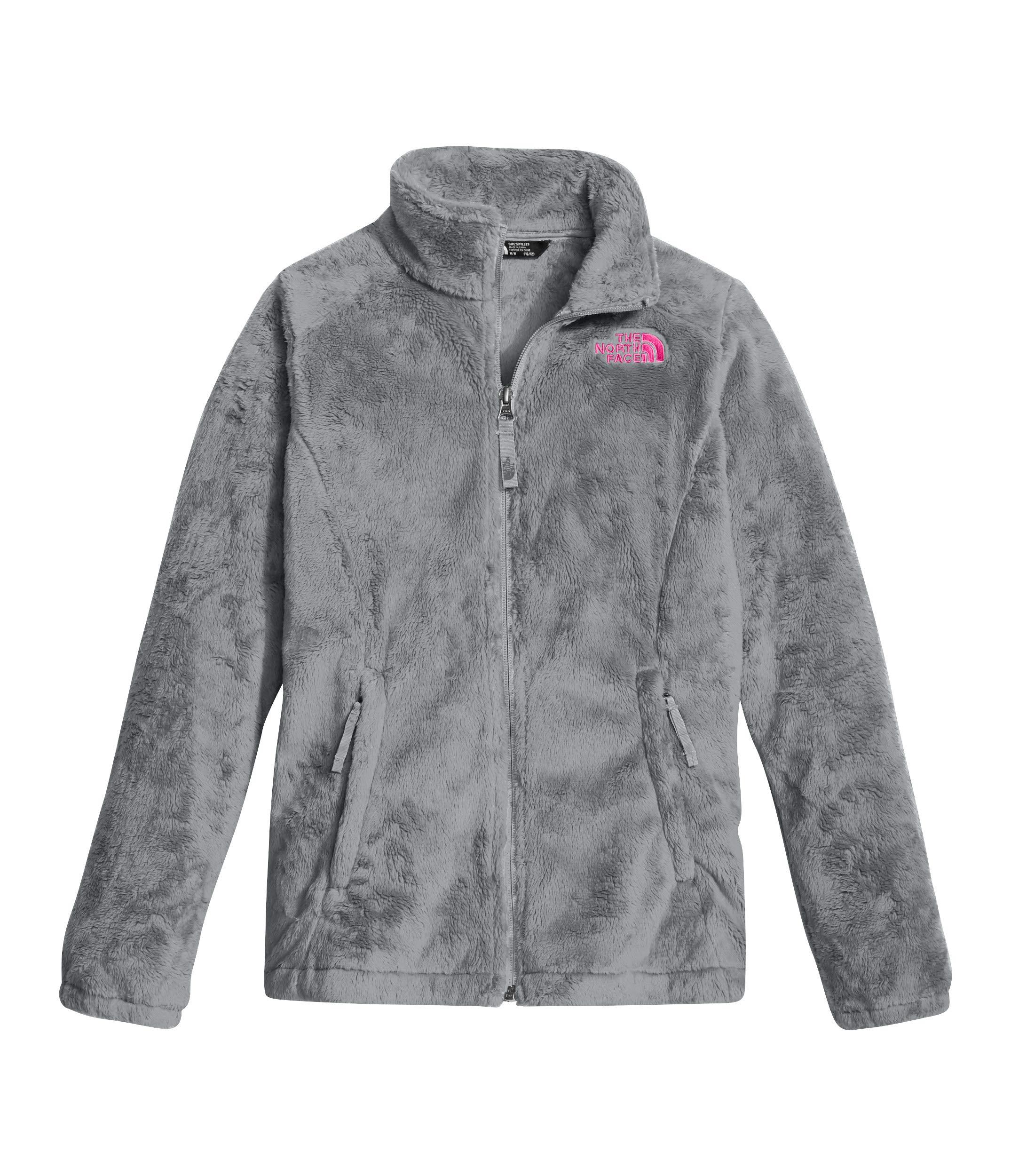 The North Face Girl's Osolita Jacket - Metallic Silver - XXS (Past Season)