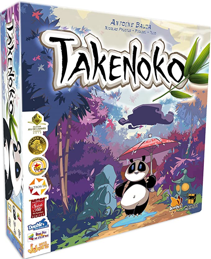 20 opinioni per Asmodee- Gioco di strategia Takenoko [versione francese]