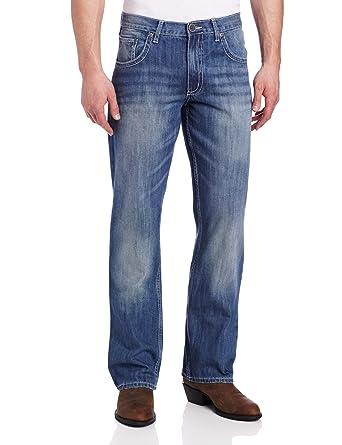 bf702b15b19 Wrangler Men's Tall Xtreme 20X Cowboy Vintage Boot Cut Jean, Light Blue,  31x38