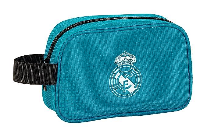 dfd37ef56 Safta Neceser Real Madrid 3ª Equip. 17/18 Oficial Pequeño 220x80x135mm:  Amazon.es: Ropa y accesorios