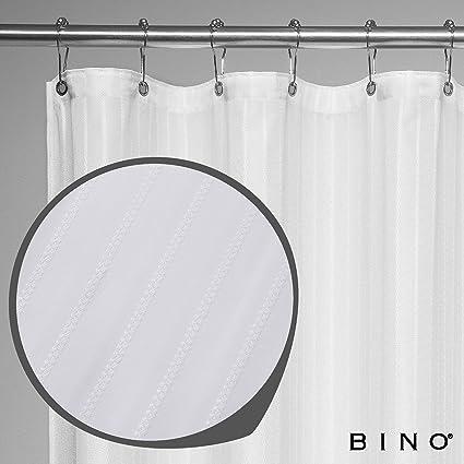 BINO Newport Fabric Shower Curtain