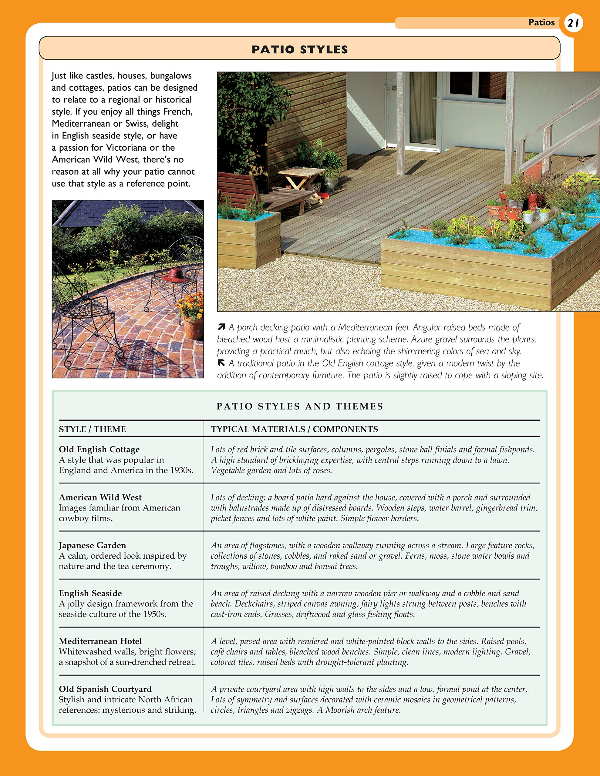 Patios: Designing, Building, Improving, and Maintaining Patios, Paths and Steps Specialist Guides: Amazon.es: Bridgewater A. & G: Libros en idiomas extranjeros