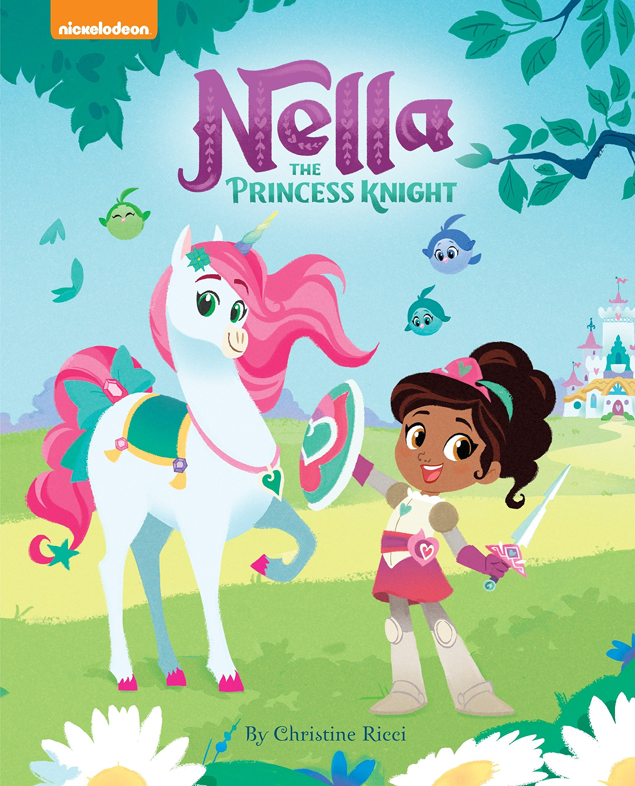 nella the princess knight nella the princess knight christine ricci alessandra sorrentino 9781524718756 amazoncom books