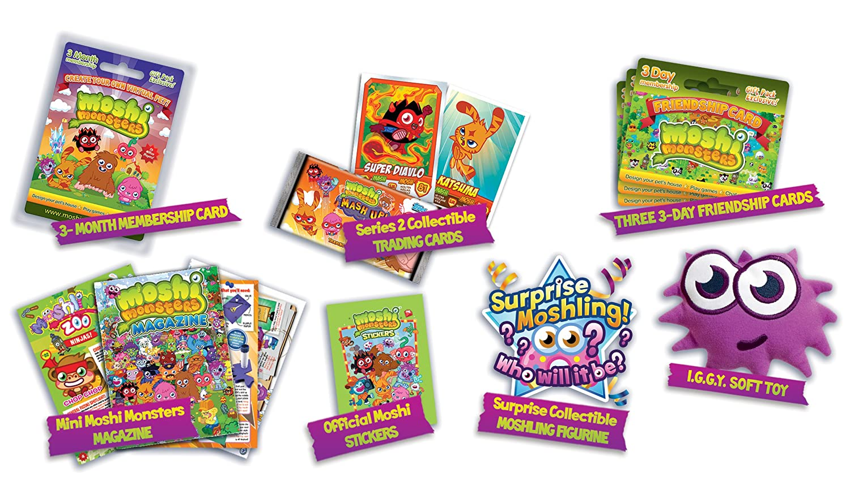 Moshi monsters moshi super fan pack amazon co uk toys games