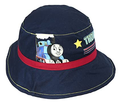 Hit Entertainment Official Licensed Thomas The Tank Engine Navy Red Bucket  Hat Age 1-3 1ccc6a63a98