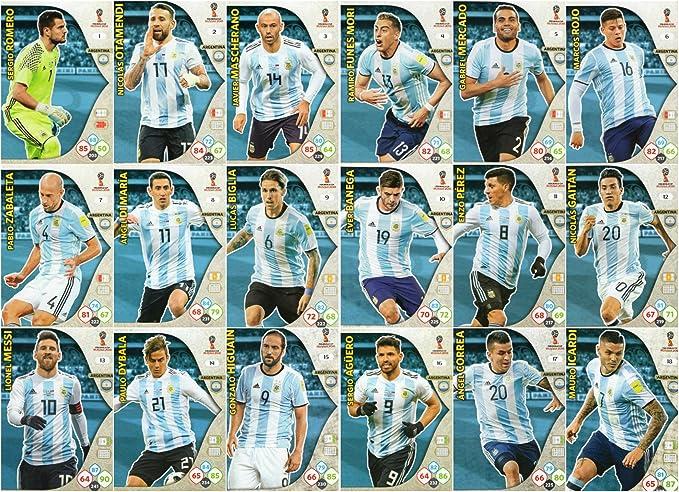 Amazon.com: ADRENALYN XL FIFA WORLD CUP 2018 FULL 18 CARD ...