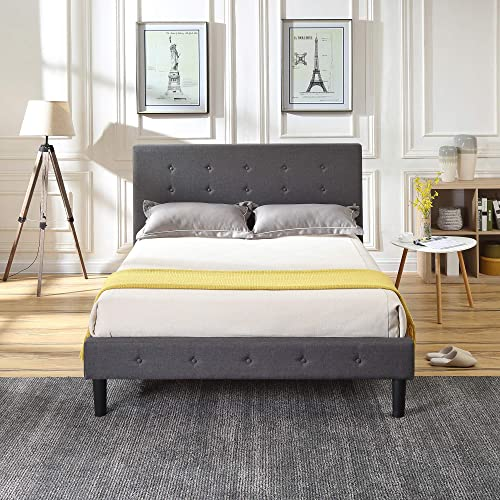 Classic Brands Cambridge Upholstered Platform Bed