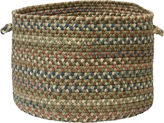 product image for Colonial Mills CV69 18 by 18 by 12-Inch Cedar Cove Storage Basket, Olive