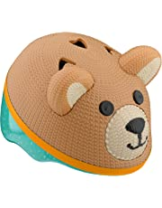 Schwinn 3D Teddy Bear Helmet for Infants, Featuring 360 Degree Comfort System with Dial-Fit Adjustment, for Infants and Children up to 3 Years Old