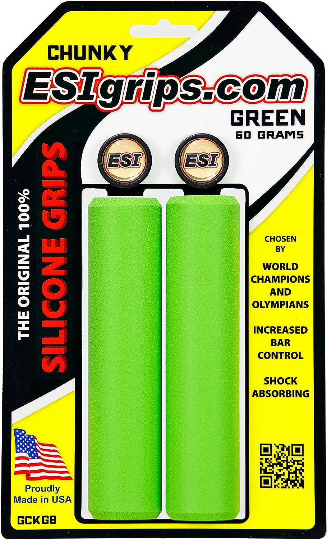 ESI Puños Chunky Color Verde: Amazon.es: Deportes y aire libre