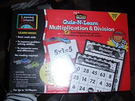 Quiz-N-Learn Multiplication & Division