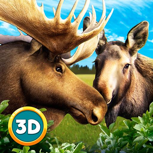 Moose Simulator: Animal Breeding Arctic Survival | Forest Monsters Predator Attack Elk Hunting Game (Of The Elk Tales)
