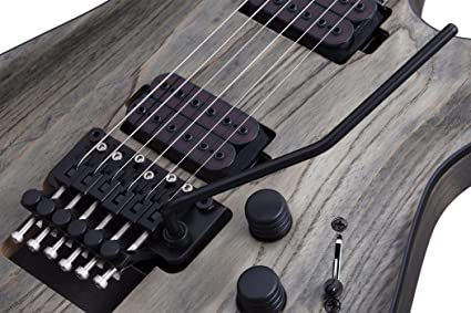 Amazon.com: Schecter 6 String C-1 FR Apocalypse, Rusty Grey 1301: Musical Instruments