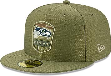 New Era Seattle Seahawks 59fifty Basecap on Field 2019 Salute to Service