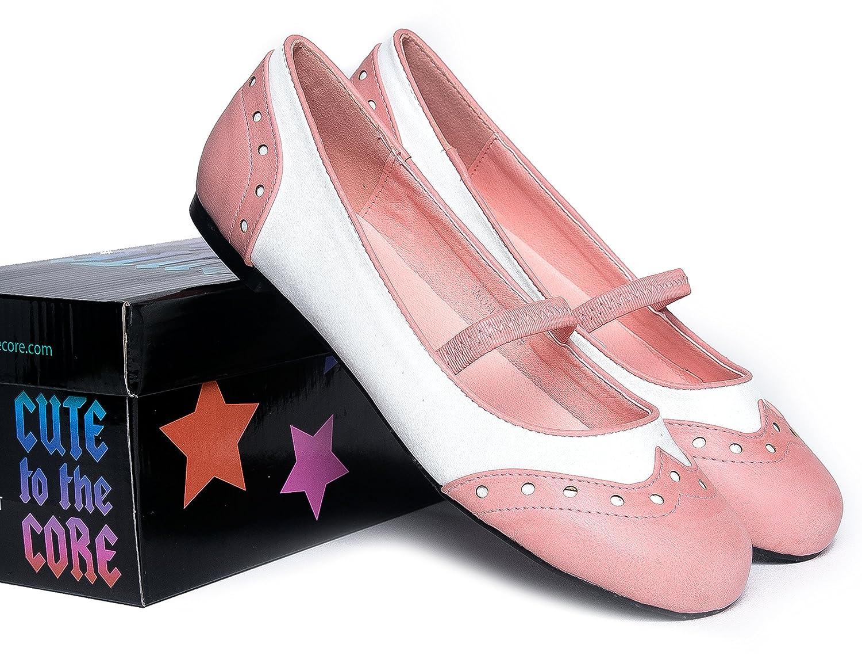 Rockabilly Dresses   Rockabilly Clothing   Viva Winona Retro Mary Jane Ballet Flats   Cute Pinup 1950s Mary Janes   Scallop Black Vintage Vegan Shoes $45.00 AT vintagedancer.com