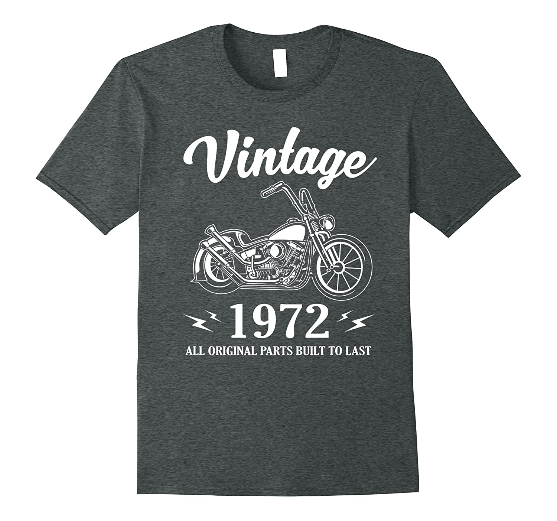 Vintage Classic Rider 1972 T-Shirt 45th Birthday Gift Shirt-FL