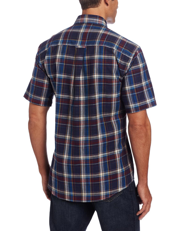 Pendleton Mens Short Sleeve Button Front Seaside Shirt