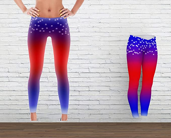 Oxford Street Accessoires Stars - red White and Blue - Yoga ...