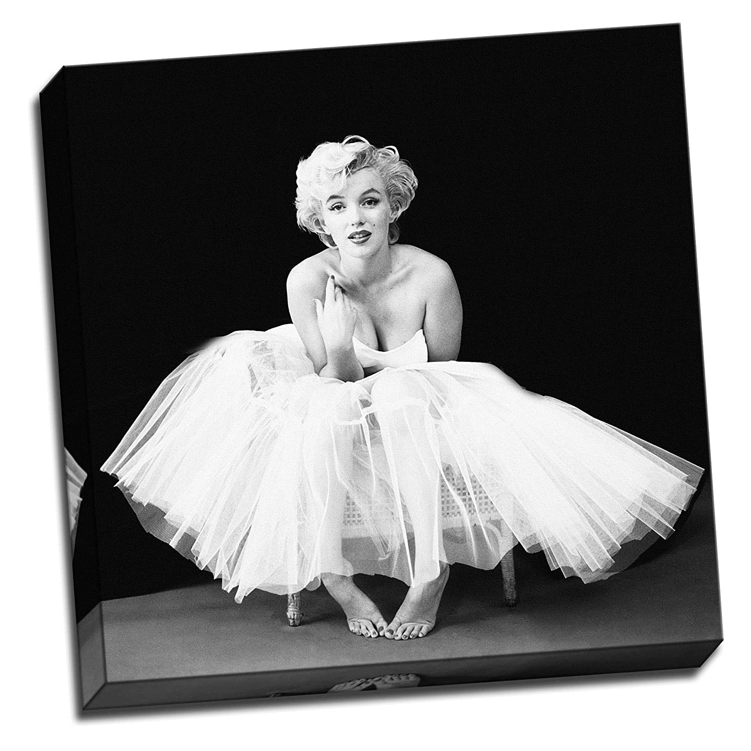 Marilyn Monroe Ballerina Canvas Wall Art Picture Print 76 Cm X 50 Cm