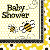Bumble Bee Baby Shower Napkins, 16ct