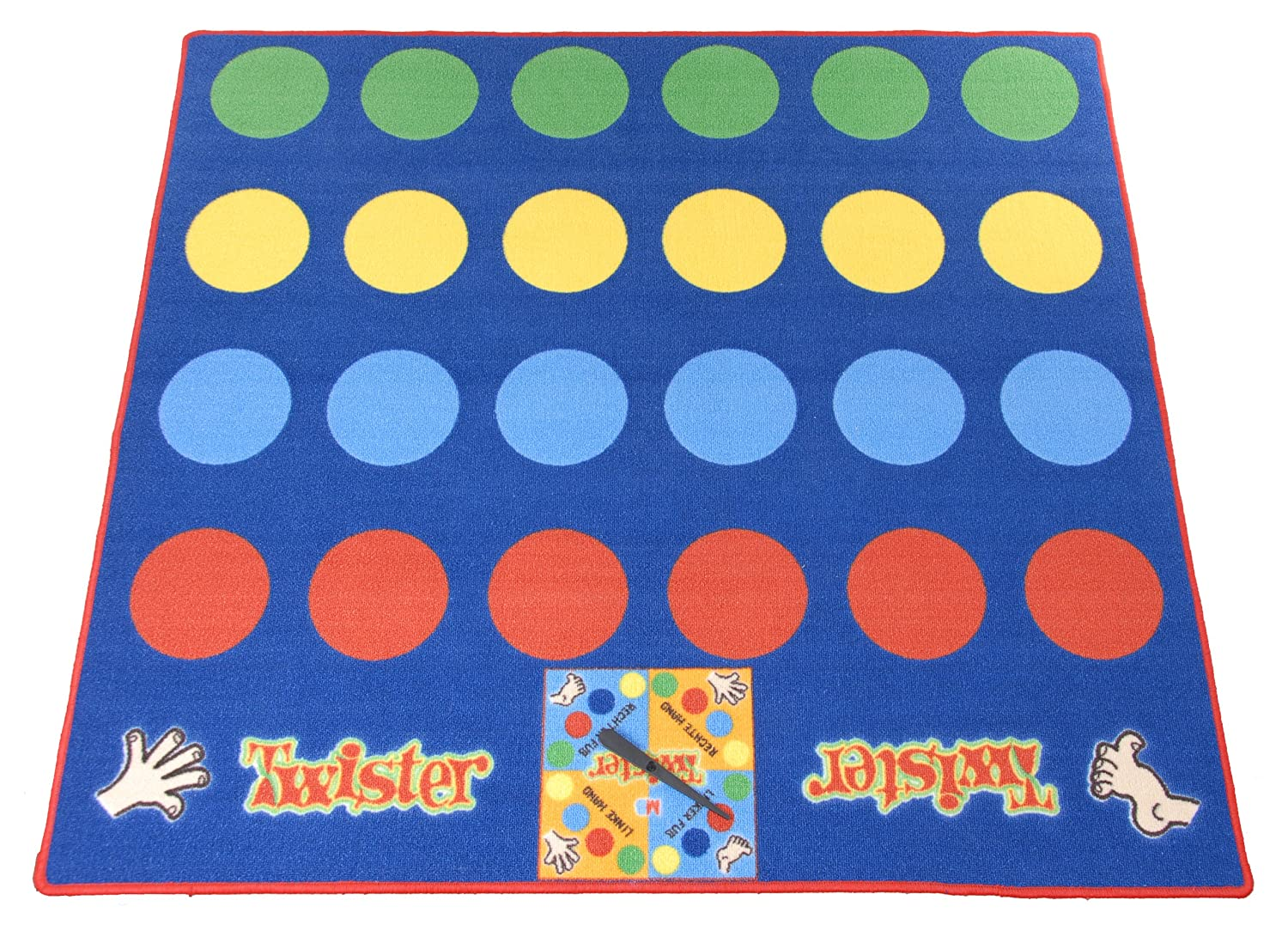 Brightlife Bv Twister Carpet Game Amazon Co Uk Toys Games