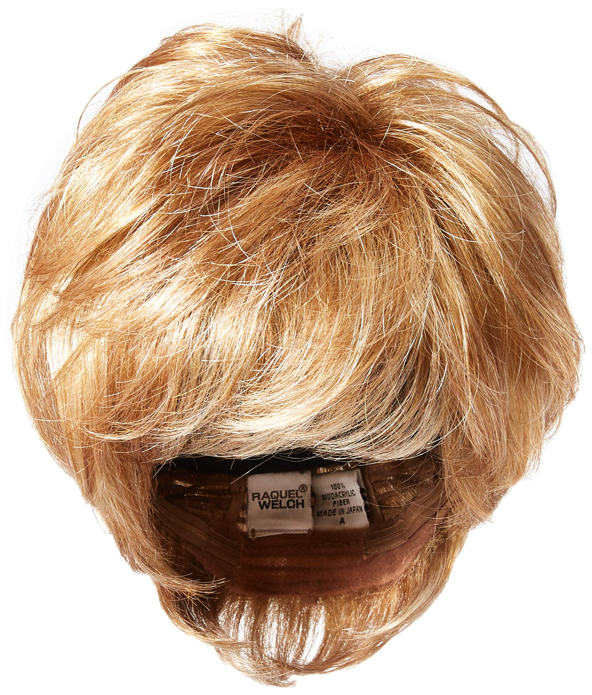 Raquel Welch Go for It Boy Cut Short Hair Wig with Longer Layers, R14/25 Honey Ginger by Hairuwear by Hair u wear