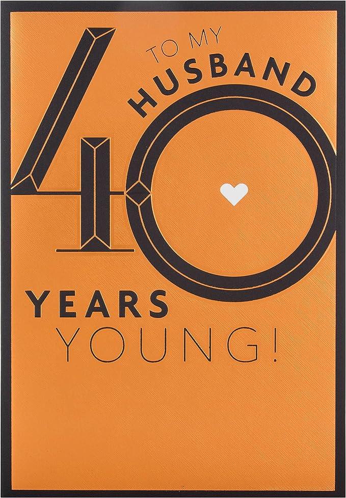 Amazon.com: Hallmark – Tarjeta de felicitación para marido ...