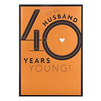 Hallmark husband 40th birthday card years young large amazon hallmark husband 40th birthday card years young large bookmarktalkfo Image collections