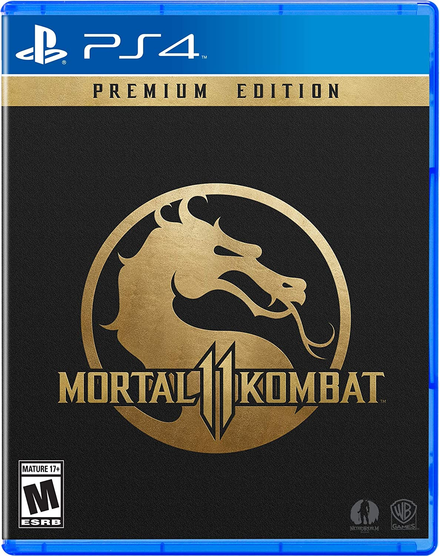 Amazon com: Mortal Kombat 11: Premium Edition - PlayStation