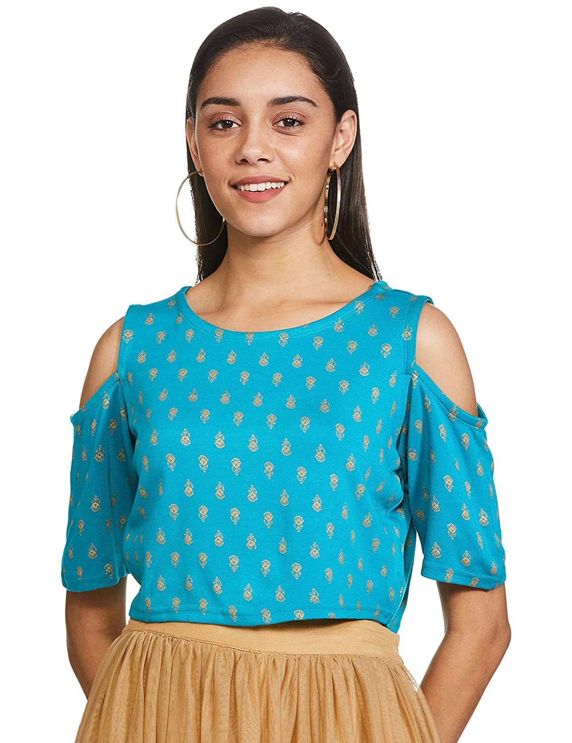 Global desi Women's Regular Fit Top Starting @ ₹191