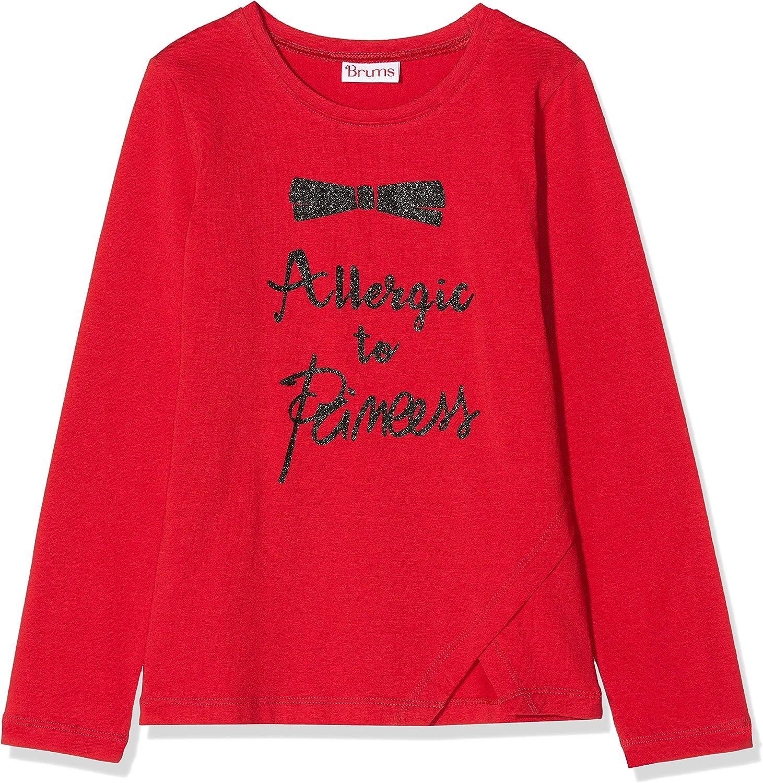Brums T-Shirt Jersey Elasticizzato con Stampa