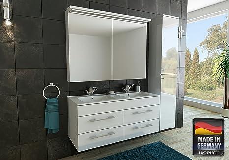 Mispa mobile da bagno con armadietto alto cm