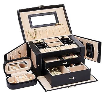 Amazoncom Finnhomy Jewelry Box Organizer Display Tray Storage Case