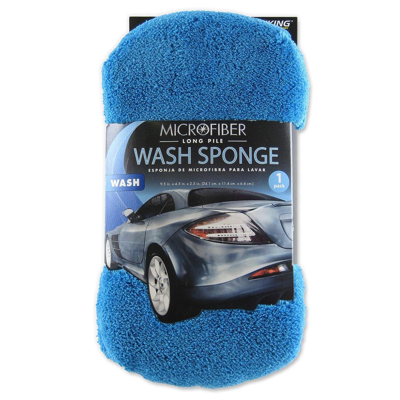 VIKING 528201 Navy 2-in-1 Pearl Chenille Wash Sponge