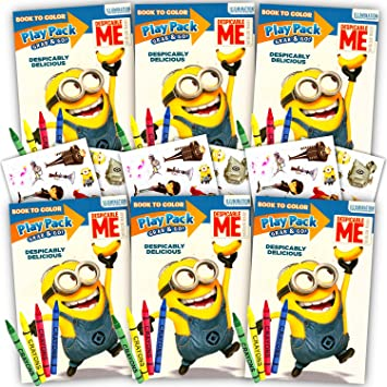 Amazon.com: Despicable Me Minions Ultimate Party Favors ...
