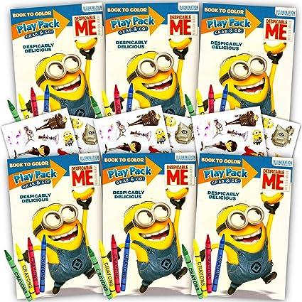 Amazon.com: Despicable Me Minions Ultimate Party Favors ...
