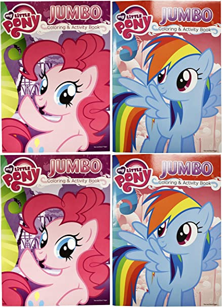 My Little Pony Jumbo Coloring /& Activity Book 96 Pages w