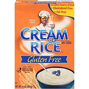Cream of Rice Gluten Free Hot Cereal, 14 Ounce (Pack of 12) (421744)