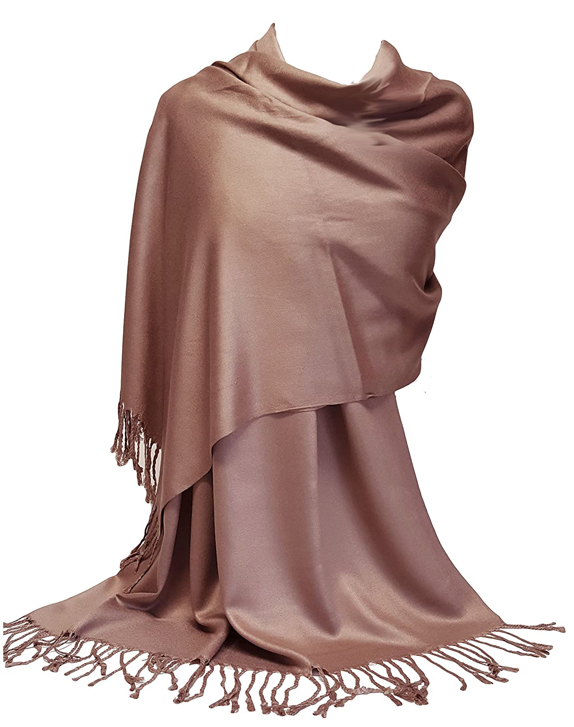 GFM® Ultra Smooth Cashmere Feel Soft Pashmina Style Wrap Scarf