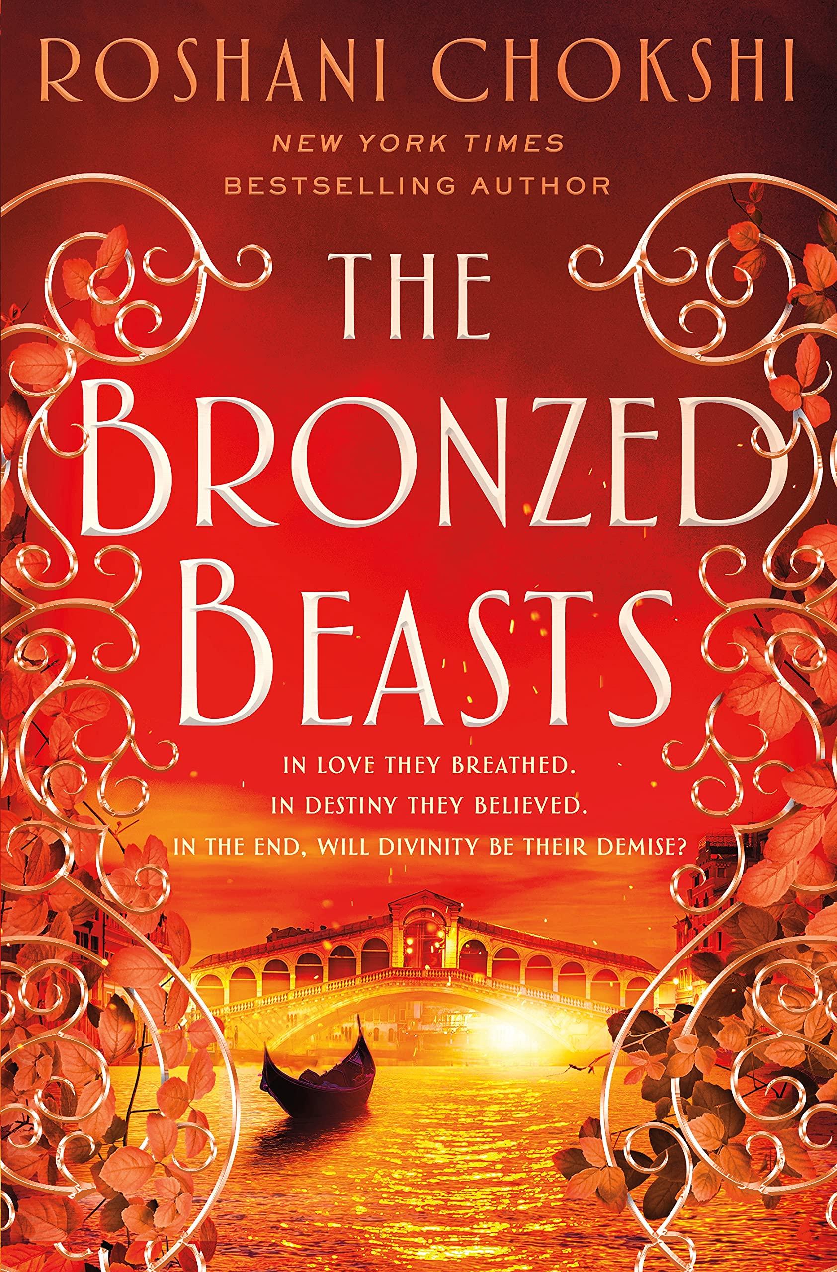 Amazon.com: The Bronzed Beasts (The Gilded Wolves, 3): 9781250144607:  Chokshi, Roshani: Books