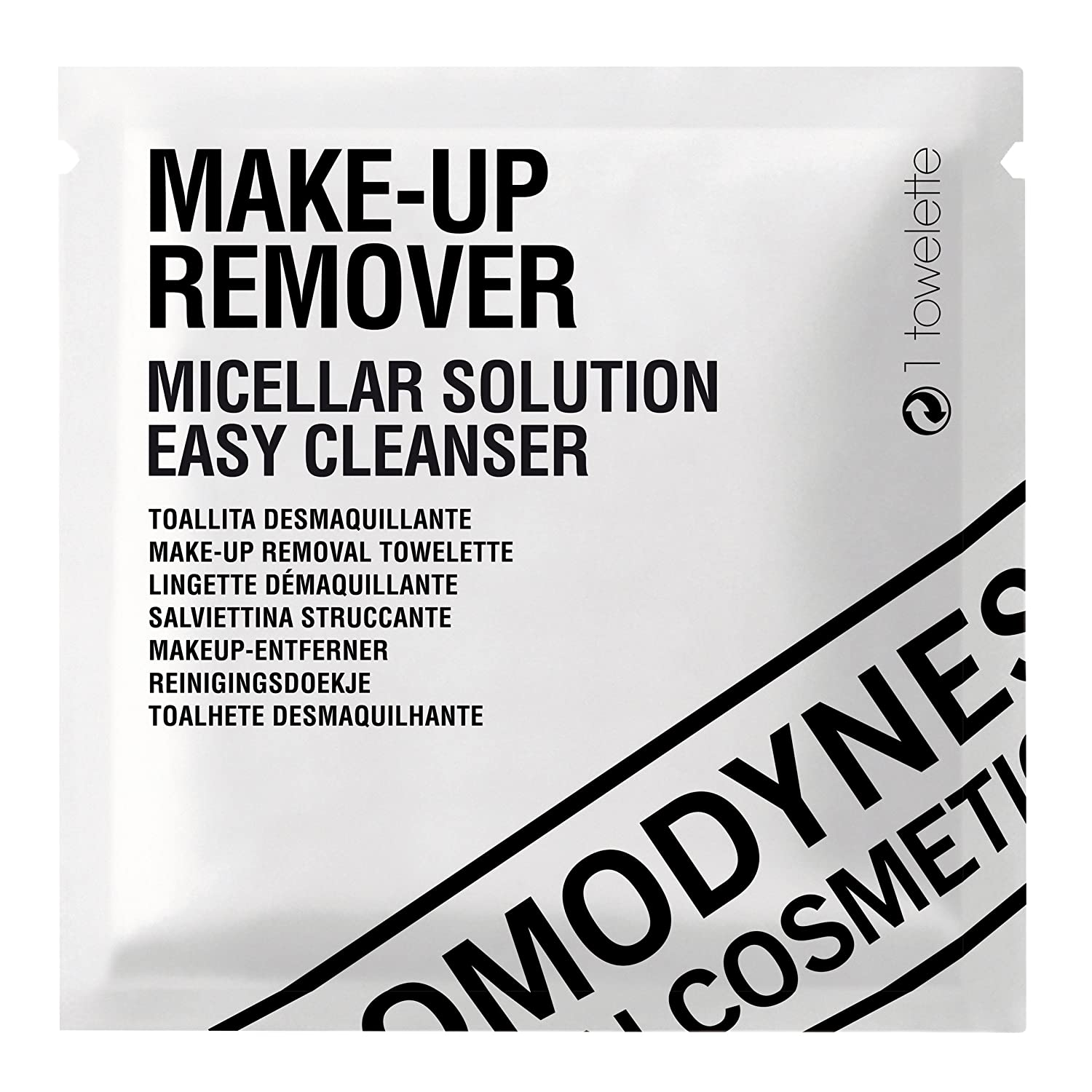 Comodynes Micellar Cleanser Make-up Remover 20 Wipes Hugo Boss 8428749396208