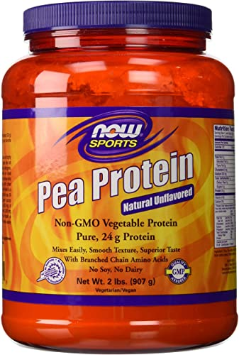 100 Pure Pea Protein Now Foods Powder 2 Pound Pack of 2