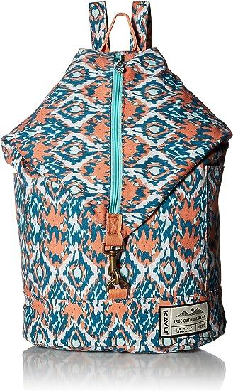 Black Batik KAVU Free Range Backpack Bucket Style Bag for Women