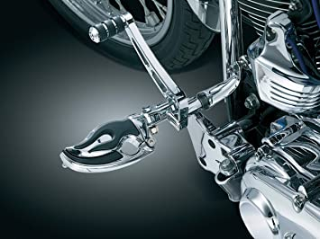 Flamin Switchblade Pegs without Adapters 1 Pair Kuryakyn 4442 Motorcycle Footpegs Chrome